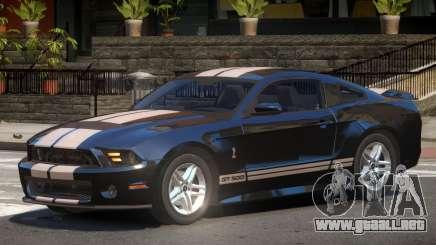Ford Shelby Y10 para GTA 4