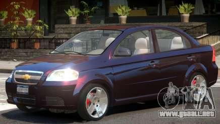 Chevrolet Aveo V1 para GTA 4