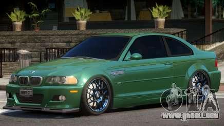 BMW M3 Tuning V1.2 para GTA 4