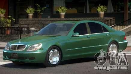 Mercedes W220 R2 para GTA 4