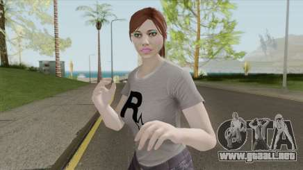 GTA Online Skin Random Female V1 para GTA San Andreas
