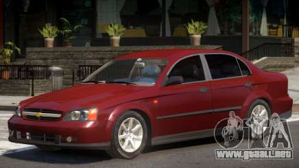 Chevrolet Evanda V1 para GTA 4