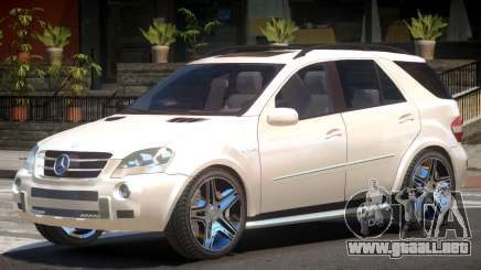 Mercedes ML63 AMG para GTA 4