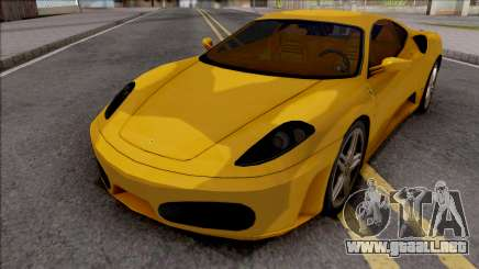 Ferrari F430 Low Poly para GTA San Andreas