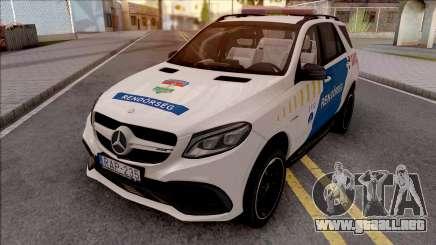 Mercedes-AMG GLE 63S Rendorseg para GTA San Andreas