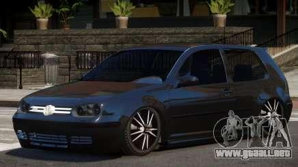 Volkswagen Golf 4 Tuned para GTA 4