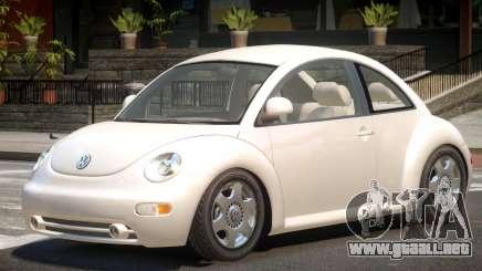 Volkswagen New Beetle V1.0 para GTA 4