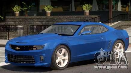 Chevrolet Camaro Y9 V1.1 para GTA 4