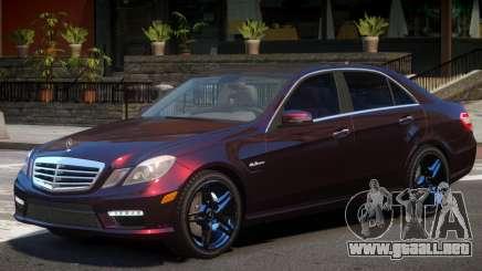 Mercedes Benz E63 Y10 para GTA 4
