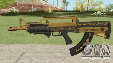 Bullpup Rifle (Two Upgrades V2) Main Tint GTA V para GTA San Andreas
