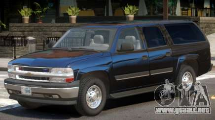 Chevrolet Suburban FBI para GTA 4