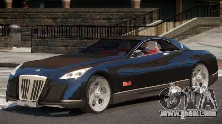 Maybach Exelero V1 para GTA 4