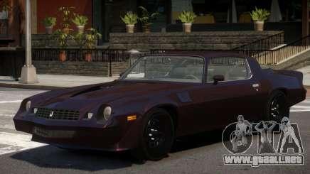 1979 Chevrolet Camaro Z28 para GTA 4