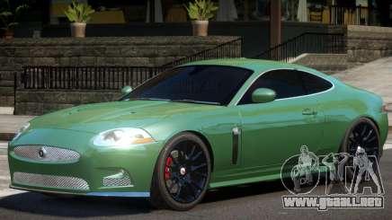 Jaguar XKR-S V1 para GTA 4