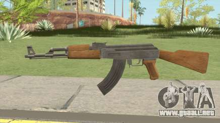 Shrewsbury Assault Rifle GTA IV para GTA San Andreas