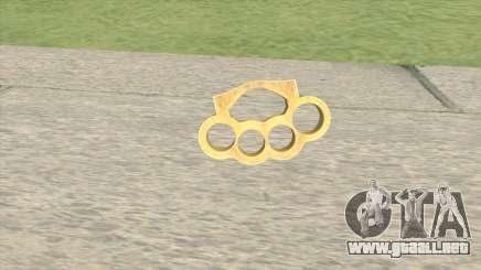 Knuckle Dusters GTA V para GTA San Andreas