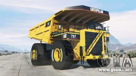 Caterpillar 797 para GTA 5
