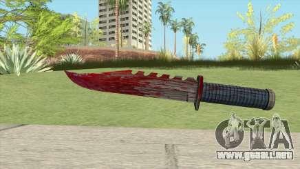 Hawk And Little Knife V3 GTA V para GTA San Andreas