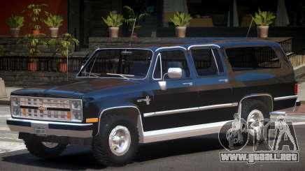 1986 Chevrolet Suburban para GTA 4