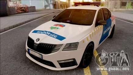 Skoda Octavia 2017 Magyar Rendorseg para GTA San Andreas