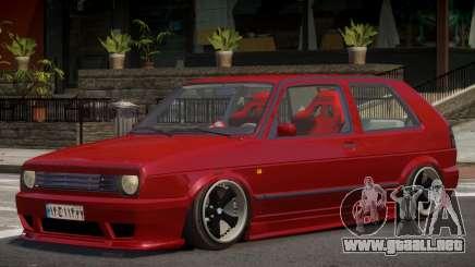 Volkswagen Golf Y12 para GTA 4