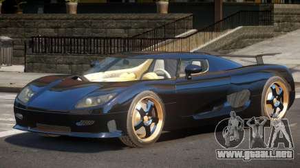 Koenigsegg CCRT ST para GTA 4