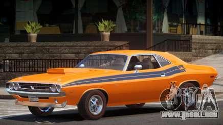 1971 Dodge Challenger R2 para GTA 4