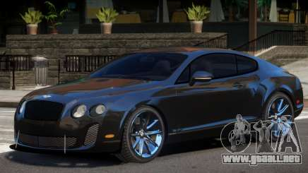 Bentley Continental Y11 para GTA 4