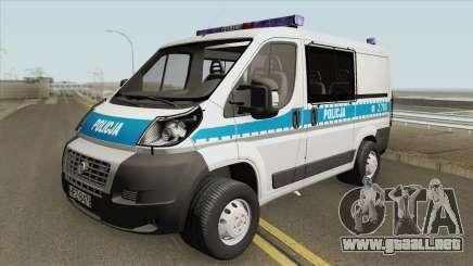 Fiat Ducato (Policja KSP) para GTA San Andreas