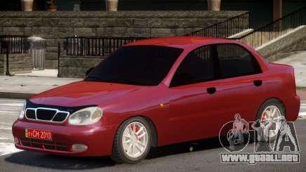 Daewoo Lanos V1.0 para GTA 4