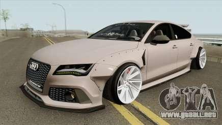 Audi RS7 Sportback X-UK 2013 para GTA San Andreas