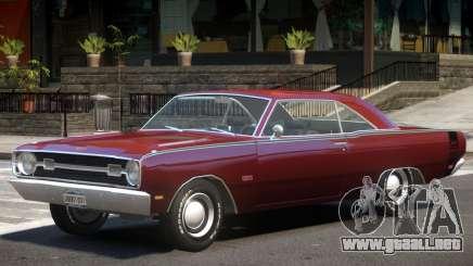 1969 Dodge Dart V1 para GTA 4