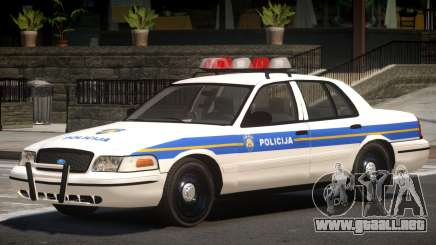 Ford Crown Victoria Police Unit para GTA 4