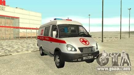 GAZ 3302 de Emergencia para GTA San Andreas