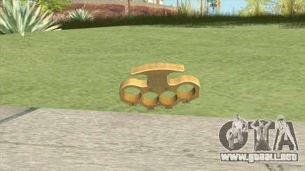 Knuckle Dusters (The King) GTA V para GTA San Andreas