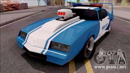 GTA V Imponte Phoenix Custom Police para GTA San Andreas