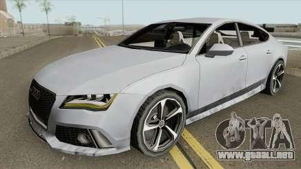 Audi RS7 2014 (White Interior) para GTA San Andreas
