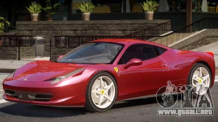 Ferrari 458 Upd para GTA 4