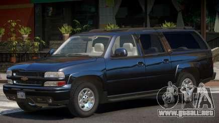 Chevrolet Suburban Y03 para GTA 4
