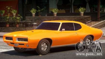 1972 Pontiac GTO V1.1 para GTA 4
