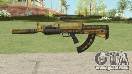 Bullpup Rifle (Three Upgrade V6) Main Tint GTA V para GTA San Andreas