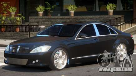 Mercedes W221 Brabus para GTA 4