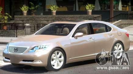 Lexus LS600 V1 para GTA 4