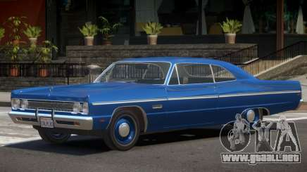 1968 Plymouth Fury para GTA 4