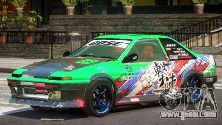 Toyota Corolla GT PJ para GTA 4