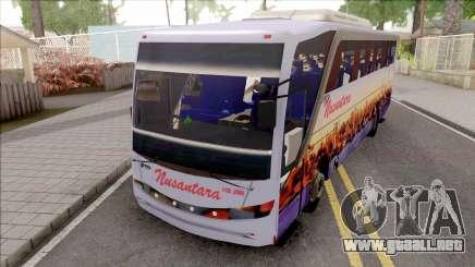 Nusantara Bus Setra Adi Putro Smile Lamp para GTA San Andreas
