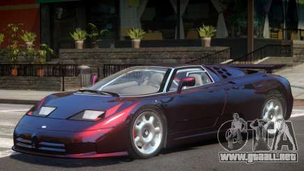 Bugatti EB110 V1 para GTA 4