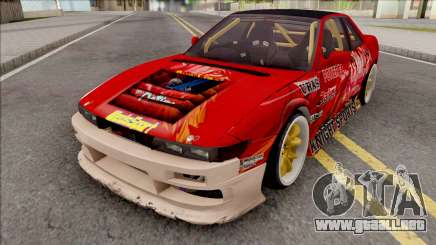 Nissan Silvia S13 1993 Drift by Hazzard Garage para GTA San Andreas
