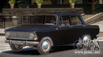 1968 Moskwitch 412 V1.0 para GTA 4