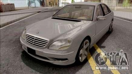 Mercedes-Benz W220 S55 AMG para GTA San Andreas